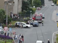 Verkehrsunfall Porschendorfer Kreuzung, 08.06.2008