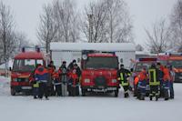 21. Winterwanderung der Jugendfeuerwehren, 23.02.2013