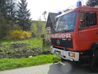 Kleinbrand in Dittersbach, 25.04.2013