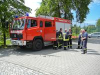 Einsatz wegen Hochwasser der Elbe, 05.06.0213