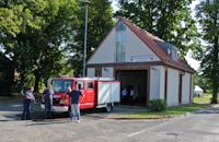 Fahnenweihe der Freiwilligen Feuerwehr Willmersdorf, 10.08.2013