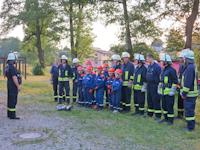 Ausbildungsdienst mit der Jugendfeuerwehr, 12.06.2015