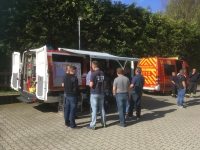 Ausbildung ortsfeste Befehlsstelle Modul 2 in Neustadt, 28.04.2018