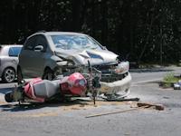 Verkehrsunfall auf der B6 in Wilschdorf, 03.07.2015