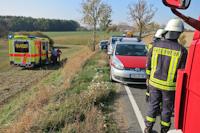 Verkehrsunfall auf der S161 bei Dittersbach, 17.10.2018