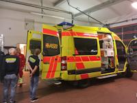 Weiterbildung Erste-Hilfe mit Rettungswagen, 08.11.2019