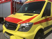 Symbolbild: Tragehilfe Rettungsdienst in Dittersbach, 20.01.2021