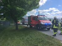 Alarmierung zu einem Lagerfeuer in Porschendorf, 31.05.2021