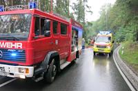 Verkehrsunfall in Dittersbach, 27.08.2021